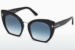 Ophthalmic Glasses Tom Ford Samantha (FT0553 01W) - Black, Shiny