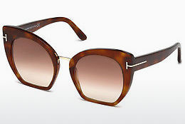 Ophthalmic Glasses Tom Ford Samantha (FT0553 53F) - Havanna, Yellow, Blond, Brown