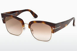 Ophthalmic Glasses Tom Ford Dakota (FT0554 53G) - Havanna, Yellow, Blond, Brown