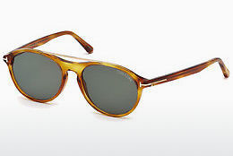 Ophthalmic Glasses Tom Ford Cameron (FT0556 53N) - Havanna, Yellow, Blond, Brown