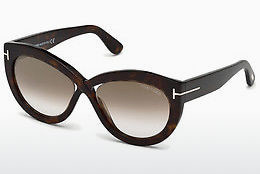 Ophthalmic Glasses Tom Ford FT0577 52G - Brown, Dark, Havana