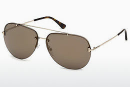 Ophthalmic Glasses Tom Ford FT0584 28G - Gold