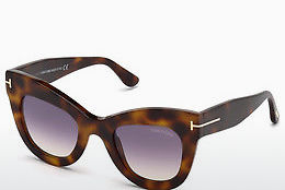 Ophthalmic Glasses Tom Ford FT0612 53Z - Havanna, Yellow, Blond, Brown
