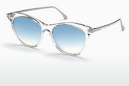 Ophthalmic Glasses Tom Ford FT0662 22X - White, Crystal