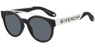Givenchy GV 7017/N/S 80S/IR GREYBLCK WHTE