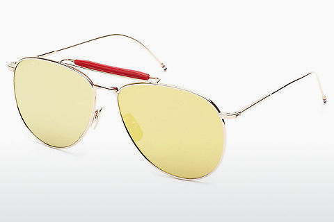 Ophthalmic Glasses Thom Browne TB-015 GLD-LTD