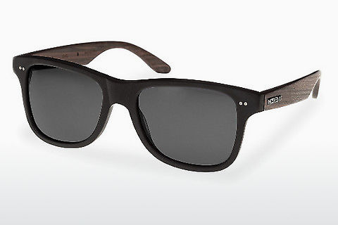 धूप का चश्मा Wood Fellas Lehel (10757 rosewood/black/grey)