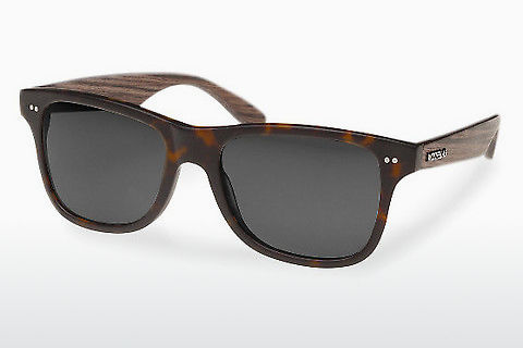 Ophthalmic Glasses Wood Fellas Lehel (10757 walnut/havana/grey)