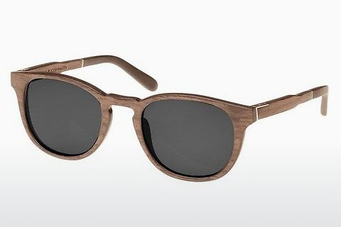 धूप का चश्मा Wood Fellas Bogenhausen (10762 walnut/grey)