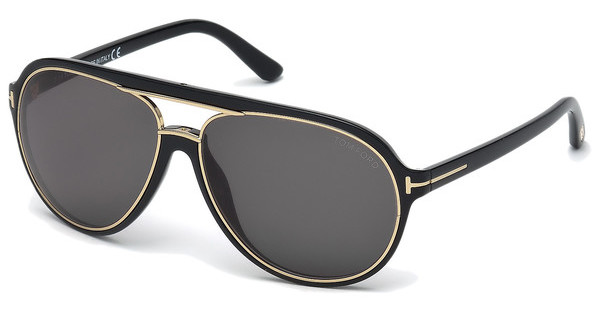 Tom Ford   FT0379 01A grauschwarz glanz